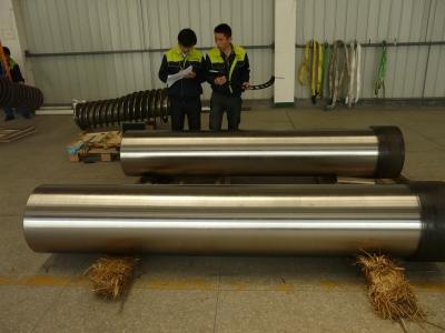 煤炭液压立柱机加工后检测