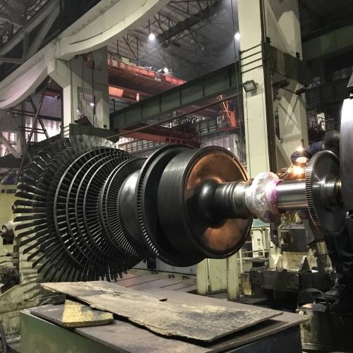 汽轮机转子修复