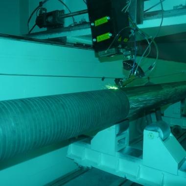 海工活塞杆激光熔覆